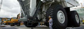 360 Tonnen Fassungsvermögen, der Multi-Kipper von Liebherr