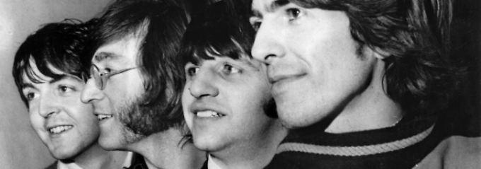 Die Beatles wie sie die meisten Menschen kennen, ...