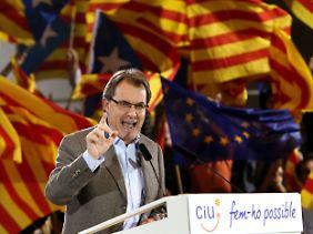 Artur Mas will Spanien ein Schnippchen schlagen.