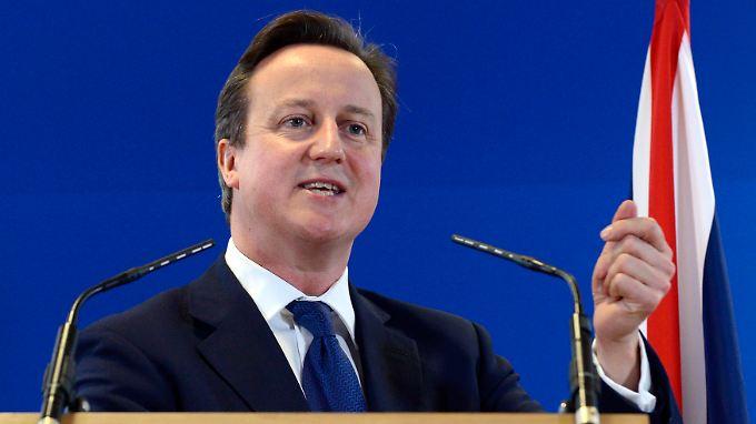 Gilt in der Europäischen Union als isoliert: Großbritanniens Premier David Cameron.