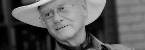 "J.R. aus ""Dallas"": Larry Hagman ist tot"