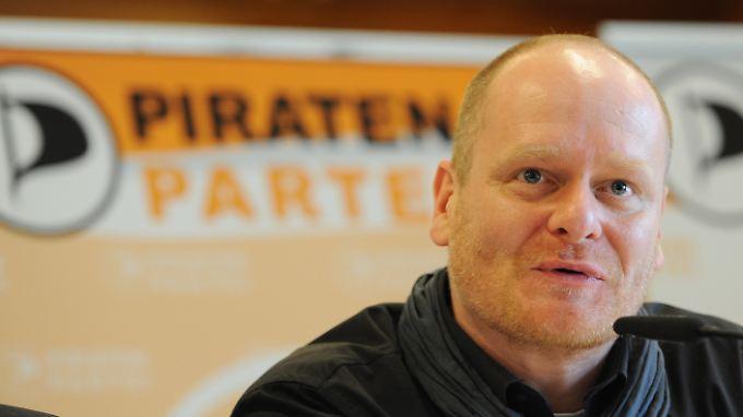Seit April diesen Jahres ist Schlömer Vorstand der Piraten.