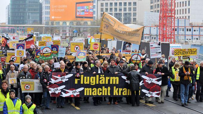 Etwa 1000 Menschen nahmen in Berlin an der Demonstration teil.