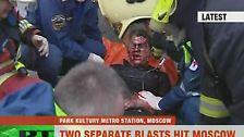 Viele Tote: Terror in der Moskauer Metro