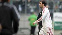 Wütend und enttäuscht: Ruud van Nistelrooy.
