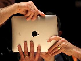 Das neue iPad wollen viele möglichst schnell in ihren Händen haben.
