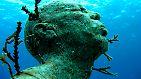 Gigantische Aktion unter Wasser: Skulpturen auf dem Meeresgrund