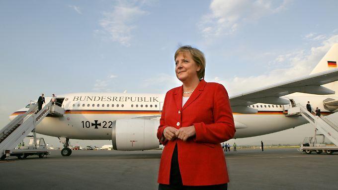 Künftig soll Merkel offenbar allein reisen.