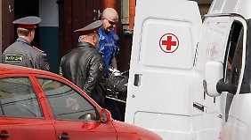 Eduard Tschuwaschow wurde vor seiner Wohnungstür in einem Moskauer Haus ermordet.