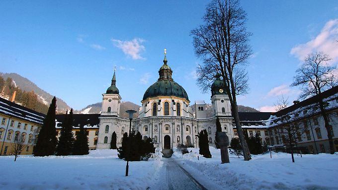 Kloster Ettal.