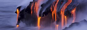 Wenn Berge Feuer spucken: Die Welt der Vulkane