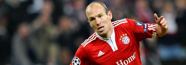 Ribery fliegt, doch Bayern siegt: Robben lässt Finalträume reifen