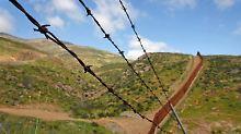 Ein 1000 Kilometer langer Grenzzaun soll Mexikaner davon abhalten, illegal in die USA zu kommen.