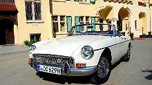 Sportlich und schön: Der MG B war eines der erfolgreichsten Modelle der Marke.