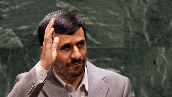Ahmadinedschad nutzt seinen Auftritt zur scharfen Kritik an der USA.