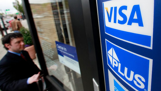Visa steigert den Gewinn im ersten Quartal um 33 Prozent.