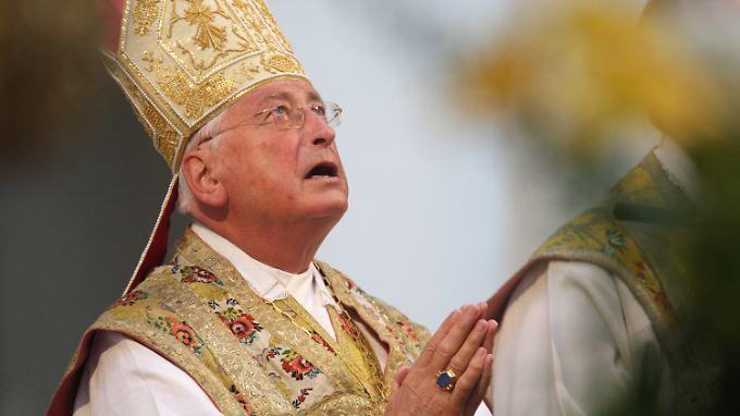 Das lange Leugnen des Bischofs, Heimkinder geschlagen zu haben, hatte schon zu einer tiefen Vertrauenskrise im Bistum geführt.
