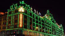 Eine Pflichtadresse für London-Touristen: Das Kaufhaus Harrods.