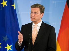Außenminister Westerwelle wehrt sich gegen größeren Einfluss der EU.