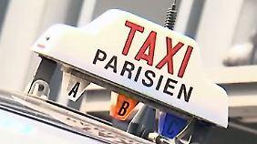 Flinke Alternative: Motorradtaxis trotzen dem Pariser Stau