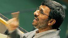 Irans Präsident Ahmadinedschad.