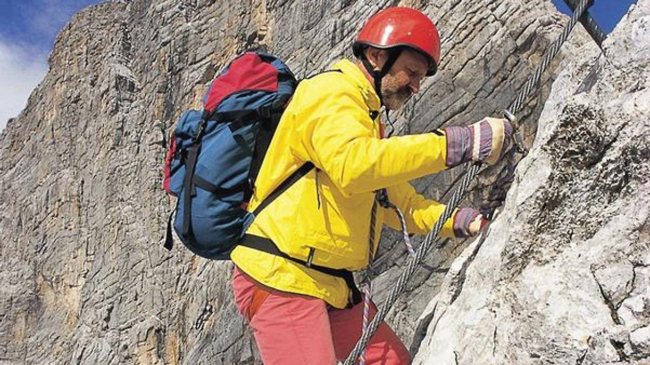 Klettersteig Johann Dachstein : Der johann via ferrata klettersteig dachstein south face youtube
