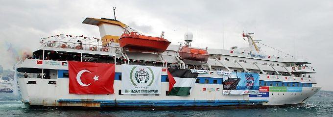 Die Friedensflotte unternimmt einen neuen Anlauf.