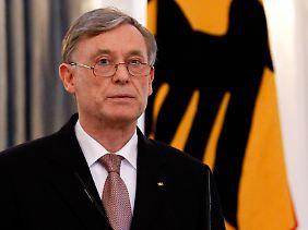 """""""Es war mir eine Ehre, Deutschland als Bundespräsident zu dienen."""""""