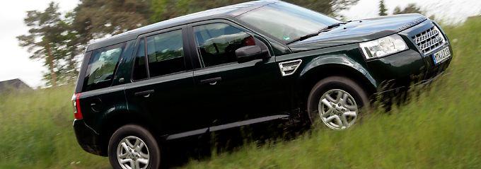 Der kann Gelände: Im Gegensatz zu vielen anderen SUVs ist der Freelander wirklich offroadtauglich.