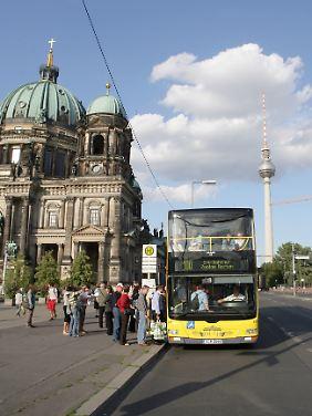 Die Linie 100 in Berlin ist bei Touristen begehrt.