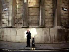 Straßenszene in der City of London: Nur das Unbekannte vermag zu schrecken.