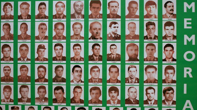 Opfer der ETA: In den letzten vier Jahrzehnten wurden 829 Menschen von der Untergrundorganisation getötet.