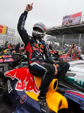 Sebastian Vettel, jüngster Dreifach-Weltmeister der Formel-1-Geschichte.