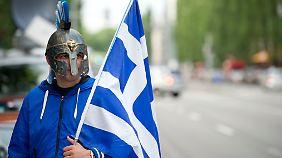 Nur Gläubiger profitieren: Griechische Bürger haben nichts vom Geld