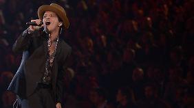 Bruno Mars ist ein Familienmensch.