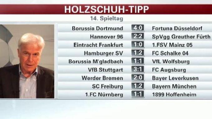 """Holzschuh tippt den Spieltag: BVB wird """"sich warm schießen"""""""