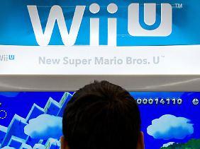 Auch Super Mario kommt in neuem grafischen Gewand.