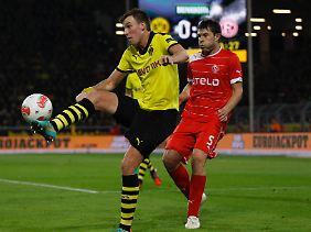 Kevin Großkreutz legte kurz vor der Pause das 1:0 für den BVB auf.