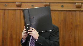 Der 41-jährige Lokführer schwieg vor Gericht.