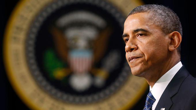 Hoffen und Bangen: US-Präsident Barack Obama braucht eine Einigung im Haushaltsstreit mit den Republukanern.