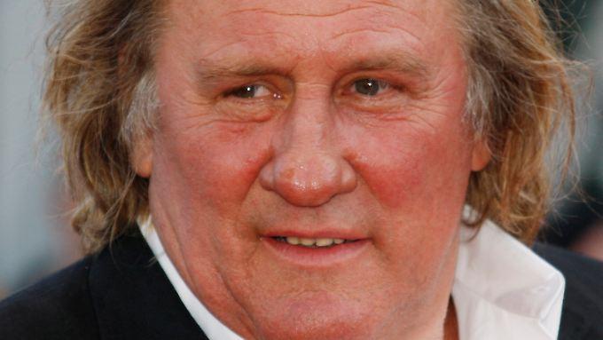 Gérard Depardieu ist für Aussetzer in der Öffentlichkeit bekannt.