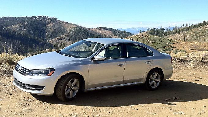 Besonders erfolgreich auf dem amerikanischen Markt: Der Autohersteller Volkswagen.
