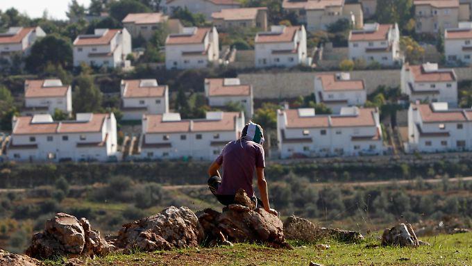 Der Siedlungsbau bleibt eines der größten Friedenshindernisse.