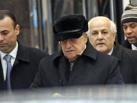Abbas, hier noch in New York, wird gefeiert - zurzeit jedenfalls.