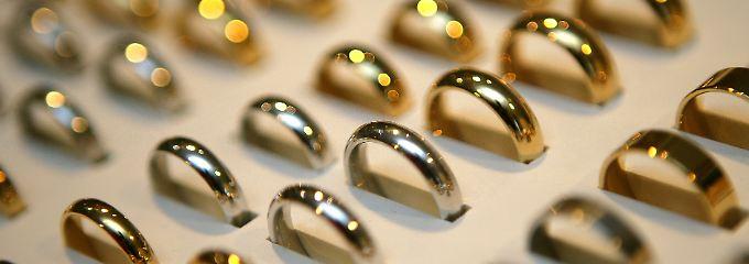Die durchschnittlicher Dauer einer Ehe sinkt von Jahr zu Jahr.