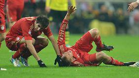 Den Dortmunder Götze traf bei der Verletzung Badstubers keine Schuld.