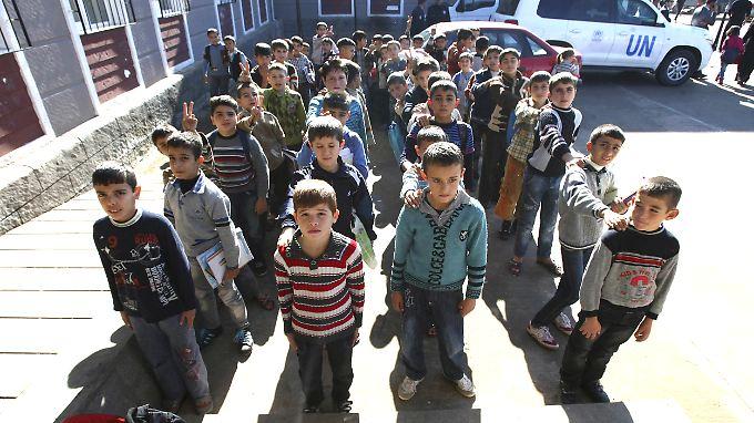 Syrische Flüchtlinge in der Türkei.
