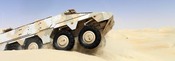 """Konzept mit elf Varianten: Die gepanzerten """"Missionsmodule"""" des """"Boxers"""" lassen sich je nach Auftrag oder Lage austauschen."""