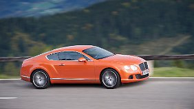 Der Bentley Continental GT Speed feiert in Los Angeles seine US-Premiere.