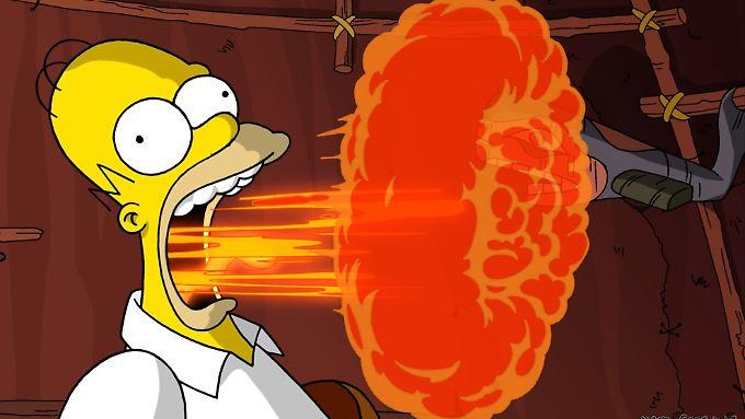 Wenn Homer den Mund aufmacht gibt es meistens Ärger.